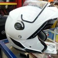 Helm AGV Longway White