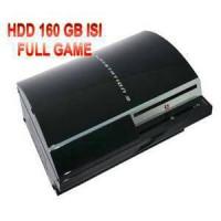Ps3 Fat Tebal 4 Port Hdd 160 Gb Internal + Stick Playstation Sony