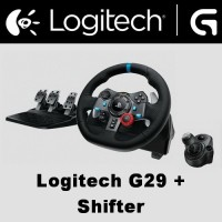 Logitech Driving Force G29 + Shifter Racing Wheel PS4 Gran Turismo GT