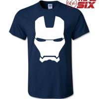 Kaos / T-Shirt - The Avengers : Iron Man - NAVY