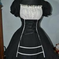 Kostum cosplay Maid Bodyline