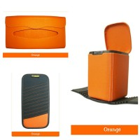 Tempat Sampah Mobil, Tempat Cd Mobil, Tempat Tissue Mobil Warna Orange