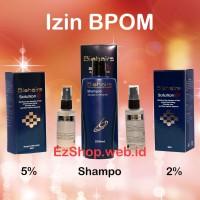 Paket Bio Hair Solution Free Shampo Tonic Asli Ez Shop (Biohairs)