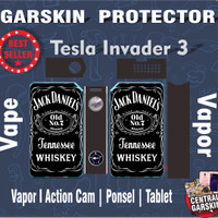 Garskin vapor / vape mod Tesla Invander 3 Jack Daniel