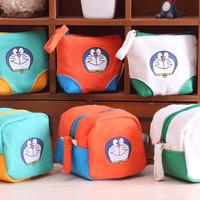 Jual Tas Kanvas Mini Dompet Doraemon Handbags Kecil Pouch Motif Boneka Murah