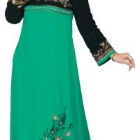 [ GAMIS ] Pakaian Baju Kemeja Couple Muslim, Batik, Overall, Jilbab-28