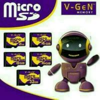 Micro sd vgen 4gb class 6/memory cArd hp/mmc hpm
