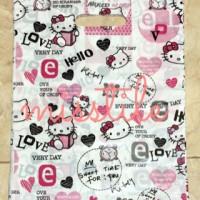 Jual Kantong Plastik Motif Hello Kitty 25x35cm 20pc / MSM009 Murah