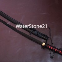 Pedang Samurai / Katana Ichigo Bankai Ultimate / Katana Sword Black