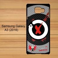 Lorenzo X-Fuera Logo 3 Custom Case Samsung Galaxy Galaxy A3 2016