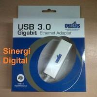 Chronos USB 3.0 to LAN Gigabit Fast Ethernet Adapter u/ Win & Mac