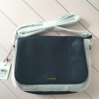 Tas Fossil Molly Flap Crossbody Midnight Navy
