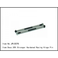JR-0076 Caster Racing 30% HARDENED RACING HINGE PIN 1/8 Buggy Engine