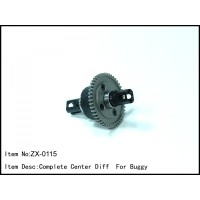 ZX-0115 Rc Car Caster Racing 1/8 COMPLETE CENTER DIFF FOR BUGGY