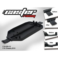 F18-026-10 Rc Car Caster Racing 1/18 CHASSIS,2010 F18T