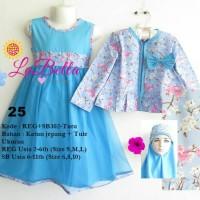 Baju Gamis Anak LaBella Usia 2-6 Tahun (REG302-KJT-0725)