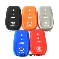Kondom Kunci Silikon Remote Cover Toyota All New Fortuner VRZ dan SRZ