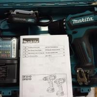 Makita DF331DWYE DF 331 DWYE Mesin Bor Cordless Drill Baterai 10mm 12V