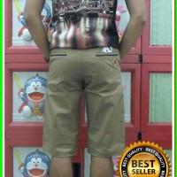 Chino DC Mocca Pria (Grosir Celana Pendek Murah) Limited