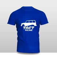 Kaos Baju Pakaian MOBIL DAIHATSU TAFT HILINE SILUET Murah