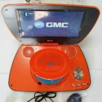 "GMC DIVX-808U-TV 9"" PORTABLE DVD PLAYER - JINGGA"