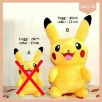Boneka Pikachu Smile Lucu Pokemon Go Termurah