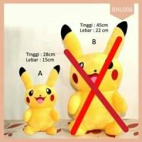 Boneka Pikachu Smile Lucu Pokemon Go Termurah.