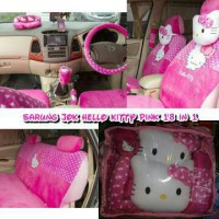 Sarung Jok 18 in 1 Hello Kitty Universal