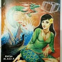 Komik Indonesia Jadul : Puteri Hijau karya M.Ali S. tahun 1982