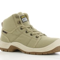 Jual Sepatu New SAFETY JOGGER DESERT 011 Sand S1P Safetyjogger Shoes Murah