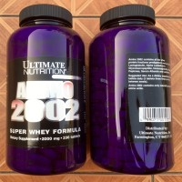 Ultimate Nutrition Amino 2002 330 tabs super Whey formula ready