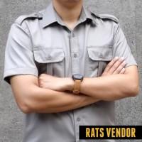 harga Kemeja Outdoor / Lapangan / Gunung / PDL Lengan Pendek Warna Beige Tokopedia.com