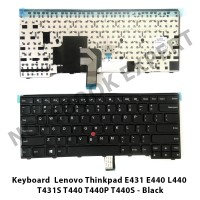 Keyboard Lenovo Thinkpad E431 E440 L440 T431S T440 T440P Black