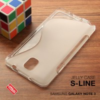 Samsung Galaxy Note 3 Soft Jelly Gel Silicon Silikon TPU Case Softcase