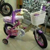 harga sepeda anak wimcycle sophia ukuran 12 (via gojek jakarta) Tokopedia.com
