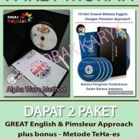 Paket Murah Belajar Bahasa Inggris GREAT English + Pimsleur Approach