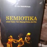 Semiotika Untuk Teater Tari Wayang Purwa Dan Film - Dr. Nur Sahid