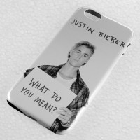 Justin Bieber - What Do You Mean iPhone Case & All Case HP