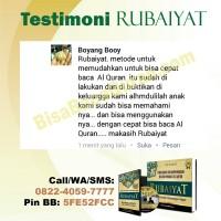 Dengan RUBAIYAT belajar Al-Qur'an hanya 4 JAM