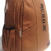 Tas Kanvas / Ransel / Tas Distro / Tas Laptop / Backpack / Import 9156