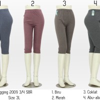 harga Celana legging wanita 3/4 celana grosir Tokopedia.com
