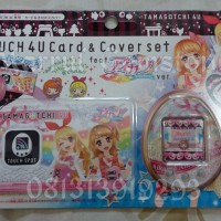Jual TAMAGOTCHI TOUCH 4U /4u+ Card and Cover set feat Aikatsu ver bandai Murah