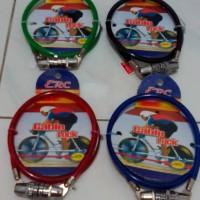 Tali Rantai Gembok Pengaman Helm Motor, Mobil, Sepeda