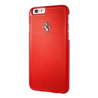 Ferrari Perforated Alu Plate Iphone 6 Plus / 6s Plus
