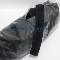 Resleting/Zipper YKK Besar No 10 Hitam Meteran