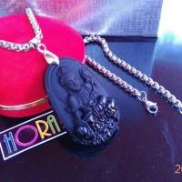 harga Kalung liontin budha original batu giok black jade/Hora Collection Tokopedia.com