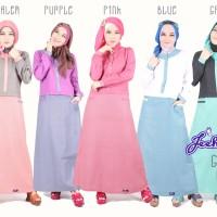 Jeehana Gamis Chirari - Baju/Wanita/Muslim/Gamis/Busana/Dress