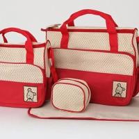 harga Tas Bayi 5 In 1 Baby Bag bisa Jinjing & Selempang shoulder hand bags Tokopedia.com