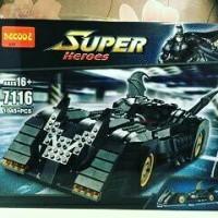 Lego Decool 7116 Batmobile Ultimate Collectors Edition