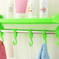 harga Rak kamar mandi tempat shampoo handuk odol sabun powerful suction Tokopedia.com